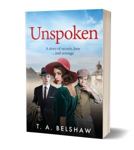 Unspoken Cover 3D
